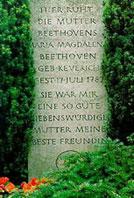 Tombe de la mère de Beethoven, à Bonn